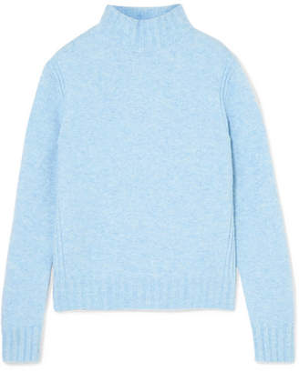 J.Crew Isabel Knitted Turtleneck Sweater - Blue