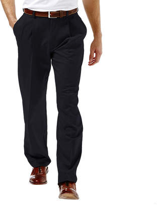 Haggar Cool 18 Classic-Fit Pleated Pants