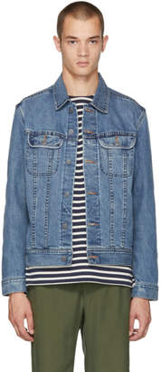 A.P.C. Blue US Denim Jacket