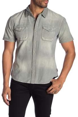 John Varvatos Denim Short Sleeve Regular Fit Shirt