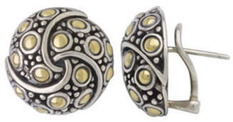 John Hardy Jaisalmer Round Twirl Earrings