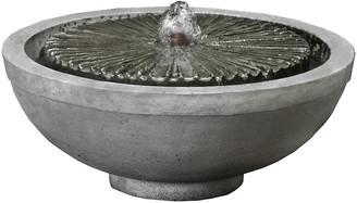 "Campania International 16"" Equinox Garden Terrace Fountain"