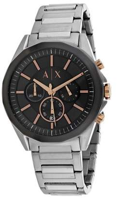 Armani Exchange Men's AX2606 Silver Stainless-Steel Quartz Dress Watch