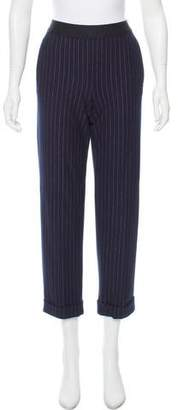 Bailey 44 Mid-Rise Striped Pants