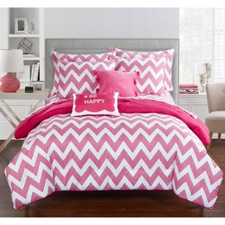 Chic Home 7-Piece Foxville REVERSIBLE Bed In a Bag Comforter Set