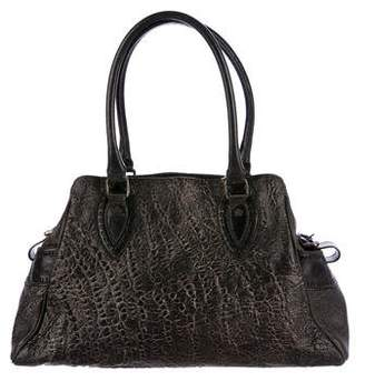 Fendi Grained Leather Tote