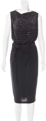 Thomas Wylde Embellished Midi Dress