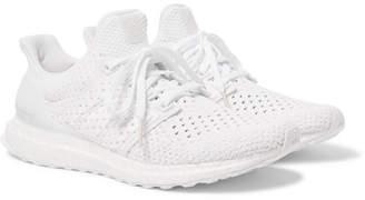 adidas UltraBOOST Rubber-Trimmed Primeknit Sneakers - Men - White