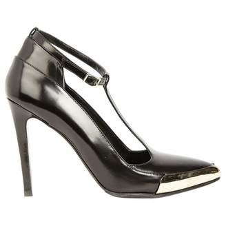 Jason Wu Black Leather Heels