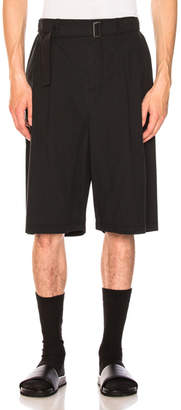 3.1 Phillip Lim Relaxed Pleated Shorts with Belt