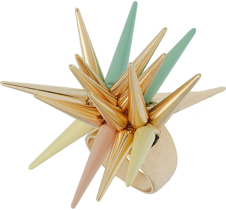 Topshop Multi Spike Ring