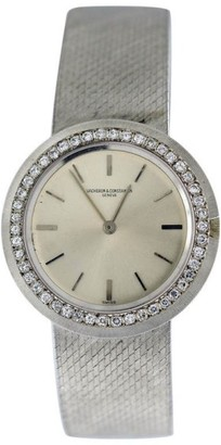 Vacheron Constantin Classique 18K White Gold 33mm Womens Vintage Watch $8,875 thestylecure.com