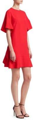 RED Valentino Crepe Envers Satin Shift Dress