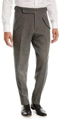 Zegna Sport Jacquard Check Trousers