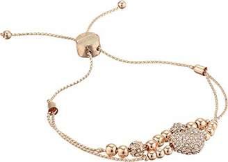 GUESS Heart Feelings Women's Double Row Slider Bracelet