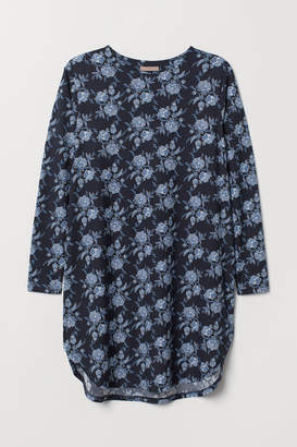 H&M H&M+ Jersey Tunic - Blue