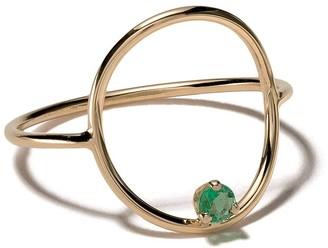 Chicco Gemfields x Zoë 14kt yellow gold medium circle ring