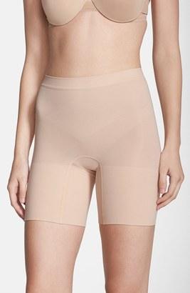 Plus Size Women's Spanx Power Short Mid Thigh Shaper $36 thestylecure.com