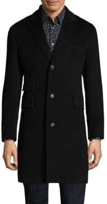 Paul Smith Buttoned Cashmere Topcoat
