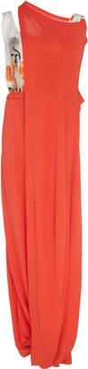 Marni Draped Knit Midi Dress