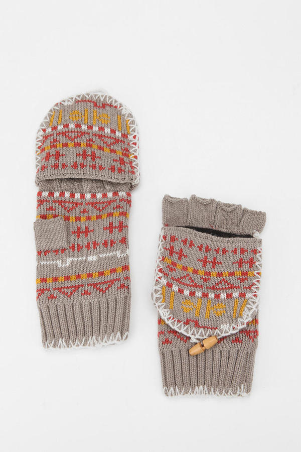 Cooperative Fair Isle Whipstitch Convertible Glove