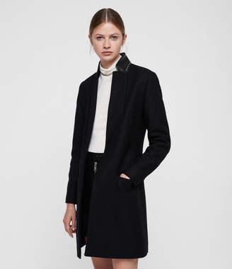 AllSaints Leni Stud Coat