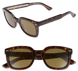 Gucci 50mm Square Sunglasses