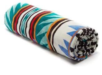 Pendleton Papago Park Oversized Cotton Jacquard Towel - Mens - Green Multi