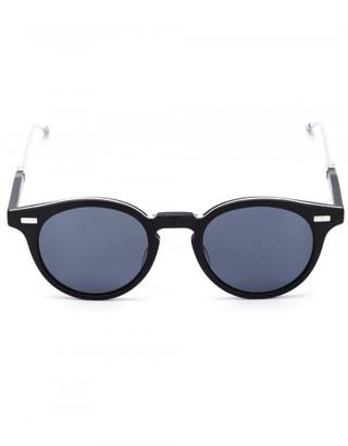 Thom Browne round frame sunglasses $1,000 thestylecure.com