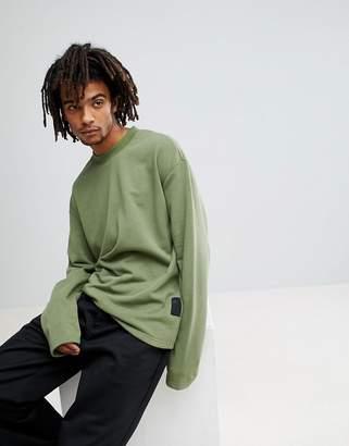 Cheap Monday Victory Sweatshirt in Khaki