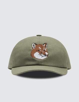MAISON KITSUNÉ Fox Head 6p Cap