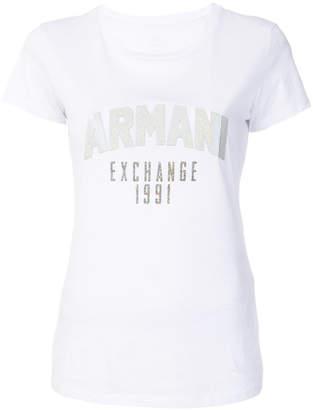 Armani Exchange ロゴプリント Tシャツ
