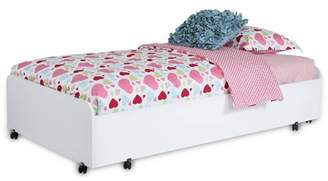 South Shore Furniture South Shore Mobby Twin Trundle Bed on Casters, Multiple Finishes
