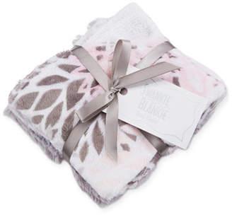 Swankie Blankie Blooms Burp Cloth Set, Pink