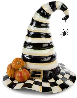 Mackenzie Childs MacKenzie-Childs Courtly Check Stripe Witch's Hat