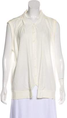 Ann Demeulemeester Sleeveless Button-Up Top