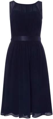Dorothy Perkins Womens **Showcase Tall Navy 'Bethany' Midi Dress