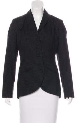 Yigal Azrouel Wool Polka Dot Blazer
