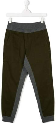 Moncler two-tone track pants
