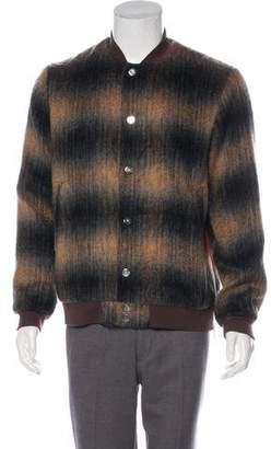 Rochambeau Wool-Blend Bomber Jacket