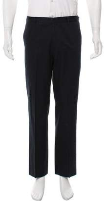 Etro Cropped Flat Front Dress Pants