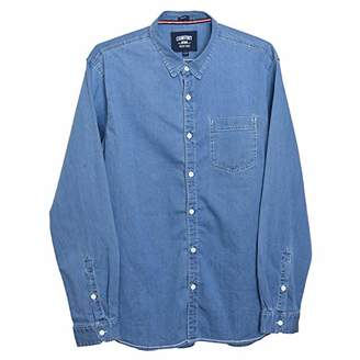 Comfort Denim Outfitters Men's Casual Denim Shirt (
