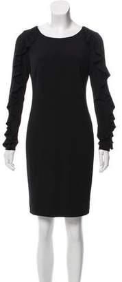 Calvin Klein Collection Long Sleeve Mini Dress