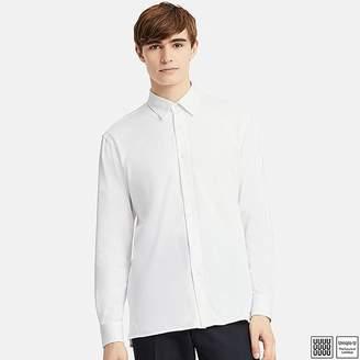 Uniqlo Men's U Supima Cotton Jersey Long-sleeve Shirt