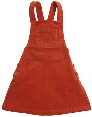 Nice Things Cotton Velvet Overall Dress