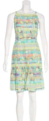 Akris Punto Polka Dot Knee-Length Dress