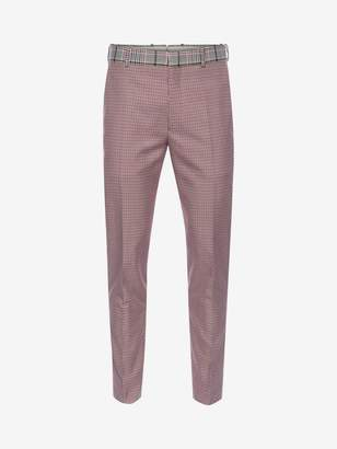 Alexander McQueen Dogtooth Trousers