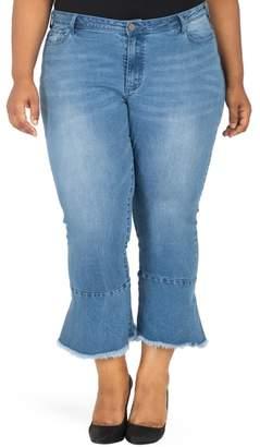 Justice Poetic Kesha Ruffle Skinny Jeans