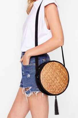 Nasty Gal WANT Last Straw Crossbody Bag