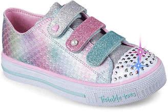 5289fc426827 Skechers Twinkle Toes Shuffles Ms. Mermaid Toddler   Youth Light-Up Sneaker  - Girl s
